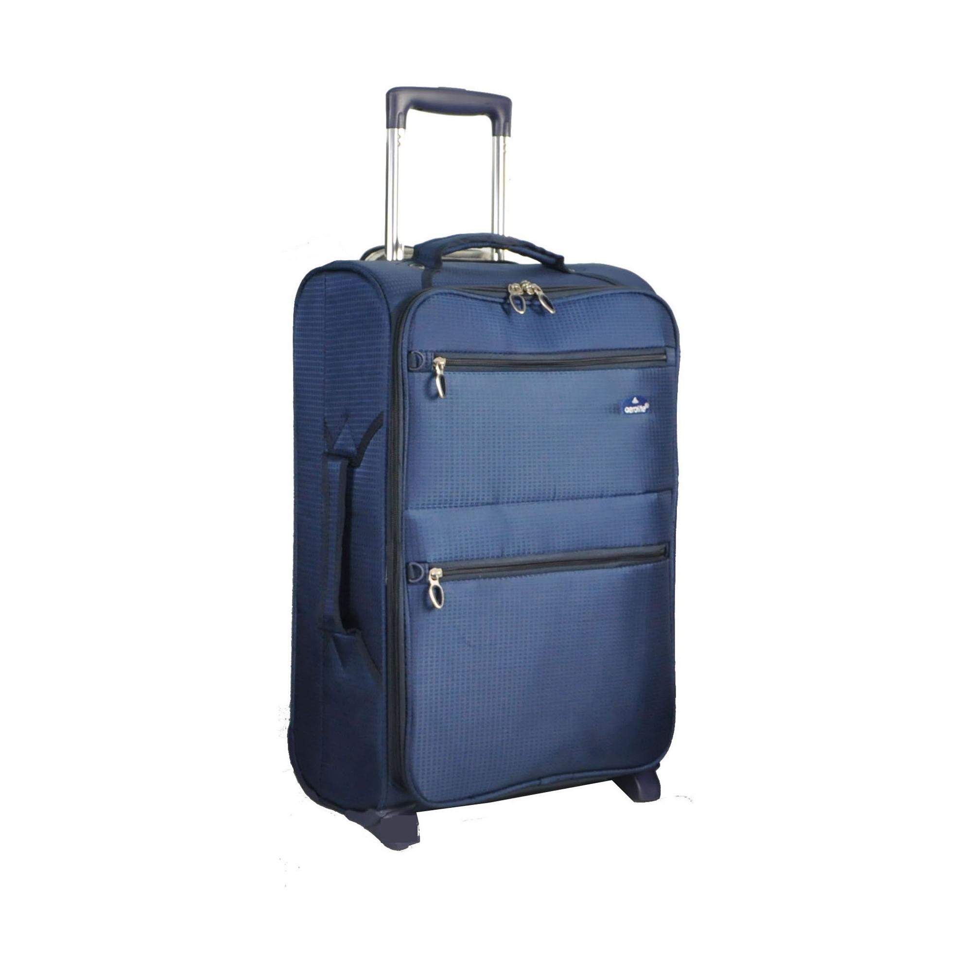 Aerolite 9985 Lightweight 21″ (50cm) Cabin Hand Luggage (Navy