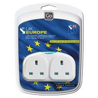 Go Travel Adapter Duo