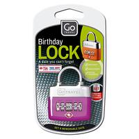 Go Travel TSA Approved Birthday Padlock