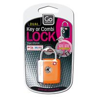 Go Travel 337 TSA Dual Combi and Key Padlock