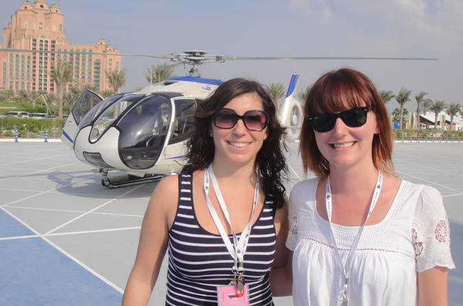 Helicopter Balloon Seaplane tours in Dubai